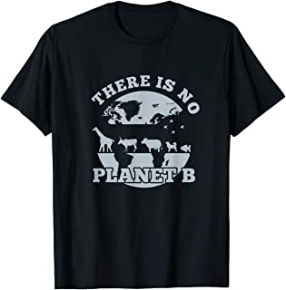 TIANLANGHB No Planet B Green Earth Protect World Stop Pollution Design T-Shirt