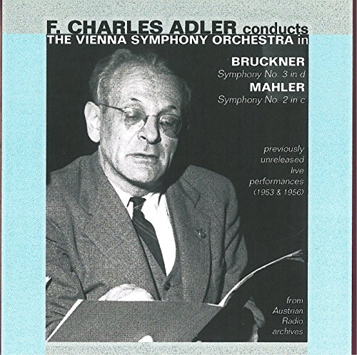 Adler Conducts Vienna Symphony Orchestra (2 CD)