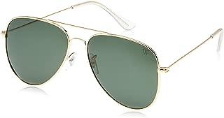 Winstonne Kenzo Men's Aviator Polarized Sunglasses - WNPO1004 60-14-135mm