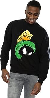 Men's Marvin The Martian Face Sweatshirt