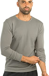 OLIVERS Apparel, Mens Athletic Merino Wool Tech Mesh Terminal Long Sleeve T-Shirt