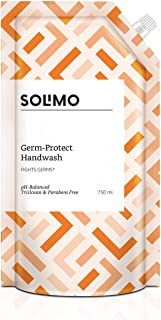 Amazon Brand - Solimo Germ-Protect Handwash Liquid, 750 ml