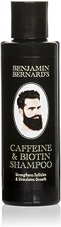 Champú con cafeína y biotina para hombres -Benjamin Bernard - Para fortalecer los folículos capilares y estimular el crecimiento de pelo - Sin parabeno ni sulfatos - 150 ml