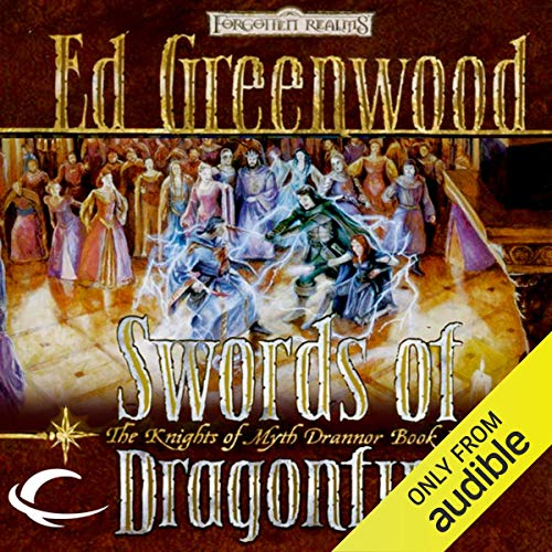 Swords of Dragonfire Audiobook By Ed Greenwood cover art