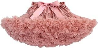 Baby Girls Tutu Skirt Princess Fluffy Soft Tulle Ballet Birthday Party Pettiskirt (9M-8T)
