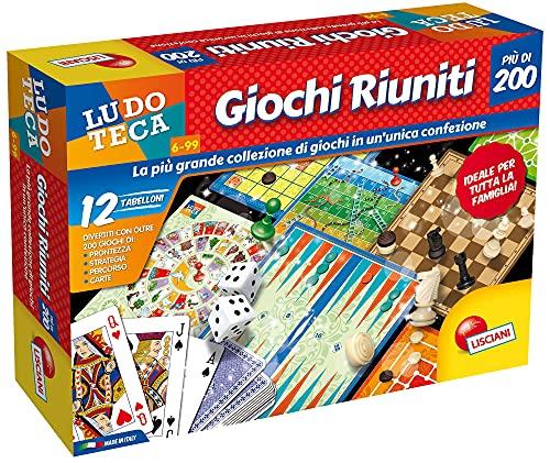 Lisciani Giochi - Ludoteca Giochi Riuniti Più di 200, Esclusiva Amazon, Multicolore, 88720