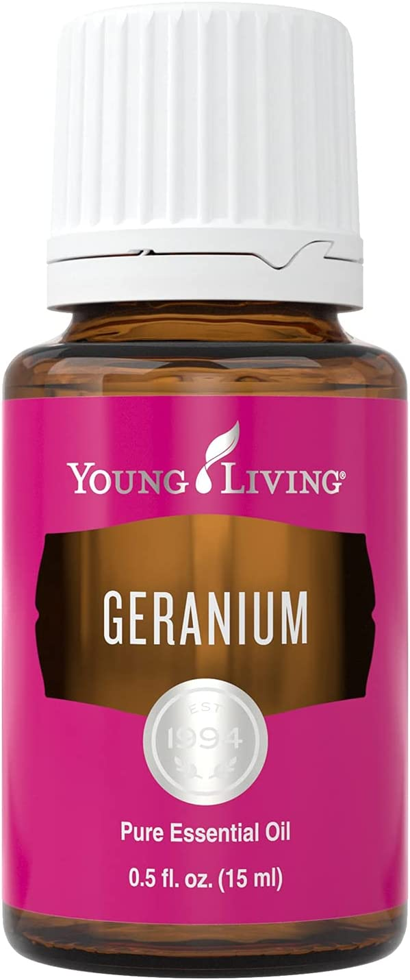 Young Living Geranium Essential Oil - Helps Promote Healthy, Rad