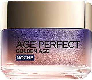 LOréal Paris Age Perfect Golden Age Crema de Noche Fortificante Antiflacidez y Luminosidad Pieles Maduras 50 ml