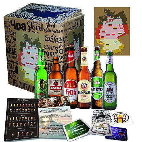 6x Deutsche Bierspezialitäten