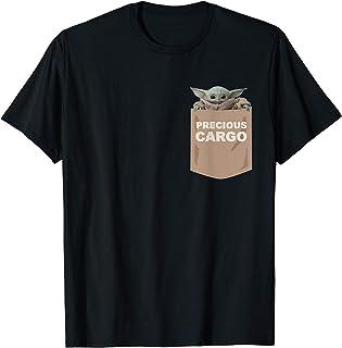 Star Wars The Mandalorian The Child Precious Cargo Pocket T-Shirt