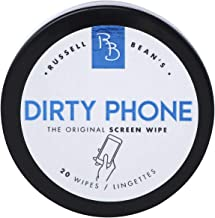 Eyeglass, Phone & Screen Cleaner Wipes: Pre Moistened Lens Cleaning Wipe for Use on Eye Glasses, Cell Phones, Computer Screens, Camera Lenses & Other Electronic Devices + Microfiber Cloth (1-Pack)