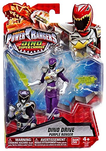 CDZ Power Rangers Dino Super Charge Drive Purple Ranger