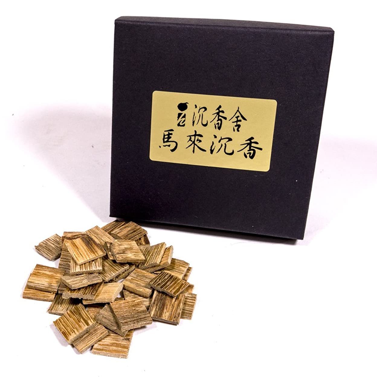 中止します有用可能にする馬來西亞 沈香角割刻み マレーシア産 沈香 5g お香 お焼香 焼香 天然沈香香木刻み こづつ用