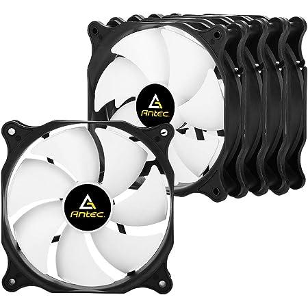 Antec Ventilateur PC 120mm pour Boîtier PC D'ordinateur Ultra Silencieux, 5 Pack (PF12-5)