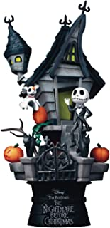 Beast Kingdom ,The Nightmare Before Christmas Ds-035 D-Stage Series Statue, Multicolor