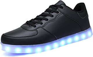 Men LED Luminous Shoes 11 Colors Glowing Colorful Flash Casual Shoes Fashion Unisex Light Up