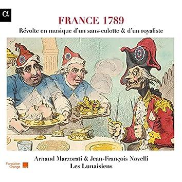 France 1789: Révolte en musique d'un sans-culotte & d'un royaliste