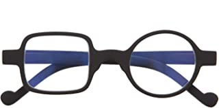 Gafas con Filtro Anti Luz Azul para Ordenador. Gafas de Presbicia o Lectura para Hombre y Mujer. Tacto Goma, Patillas Flexibles y Cristales Anti-reflejantes. 6 colores y 6 graduaciones – DALI