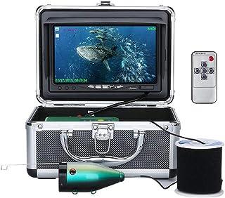 Fish Finders Grabador de DVR portátil Buscador de Peces, Pantalla de 7 Pulgadas, 15 Piezas de LED Blancos + 15 Piezas de L...