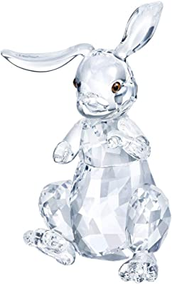 Vintage by Crystal Miniature Spun Cotton Spotted Bunny Figure
