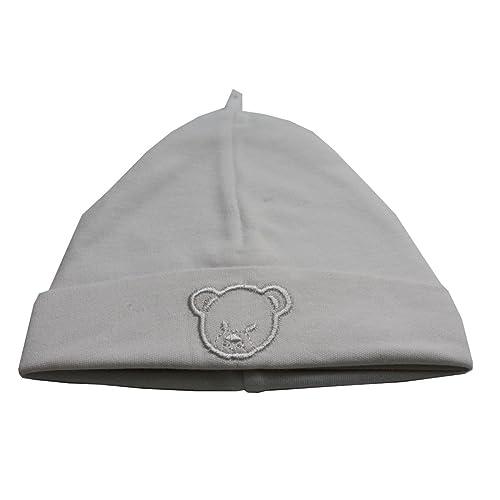 915218e762f4 Bonnet coton BLANC naissance ideal pour la maternité