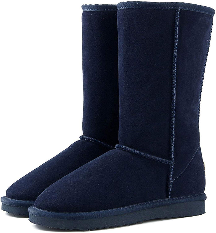 colorful Dream- Genuine Leather Fur Snow Boots Women Australia Winter Boots Warm Boots Woman