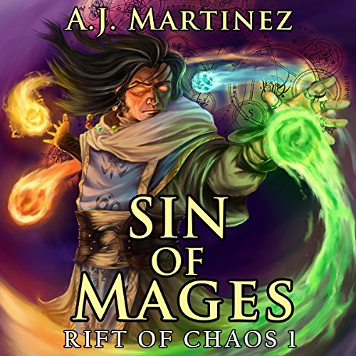 Sin of Mages audiobook cover art