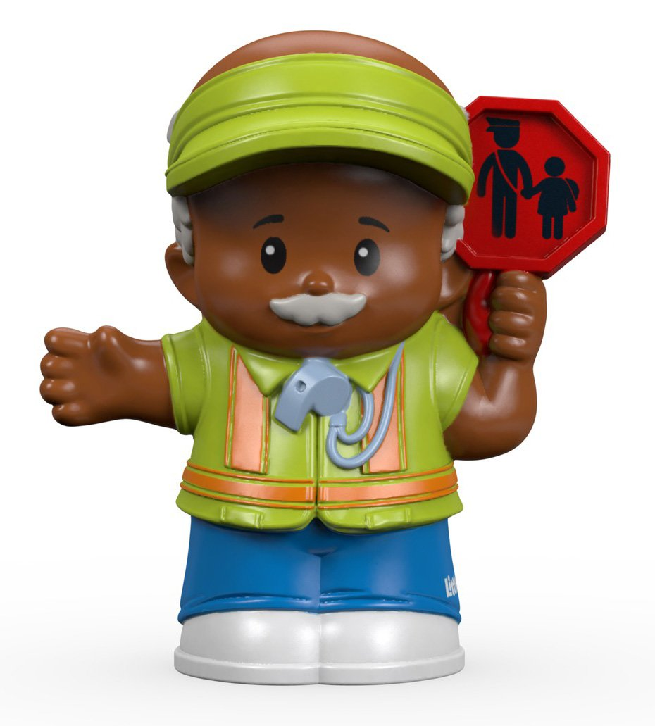 Buy Fisher Price Little People Crossing Guard William Figure ...