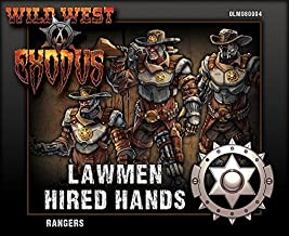 Wild West Exodus Lawmen Hired Hands Rangers by Outlaw Miniatures