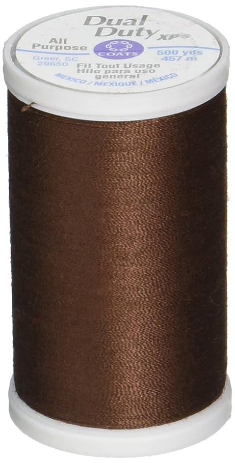 Coats S930-8890 Dual Duty XP General Purpose Thread, 500-Yard, Dark Brown