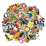 100 Aufkleber/Sticker - Retro-, Graffiti- Style, Reisen,