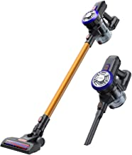 EYUGLE Cordless Stick Vacuum Cleaner for Pet Hair,9Kpa, Runing Time 45mins, 2-in-1 Lightweight Stick Vacuum with 2-Speed Powerful Suction, Wall Mount, Rechargeable Battery for Pet/Car/House