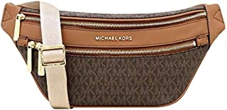 Michael Kors Kenly Medium Crossbody Waist Pack Brown Signature