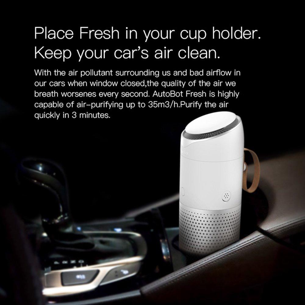 Virtoba Autobot Purificador de aire del coche Ambientador del ...