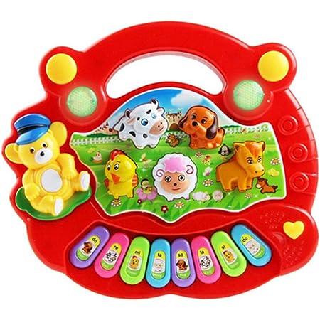 STOBOK Juguete Musical para Bebés Teclado de Piano Animal de ...