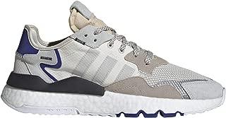 adidas Mens Nite Essentials Jogger Shoes White/GREY/Black-F34124