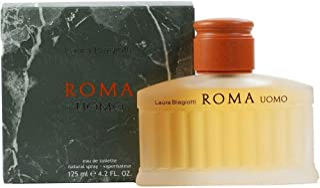 Laura Biagiotti Roma Eau de Toilette, Uomo, 125 ml
