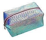 Holographic Mermaid Cosmetic Bag Makeup Bag Toiletry Travel Bag Handy Large Protable Wash Pouch Zipper Handbag Carry Case Organizer Purse