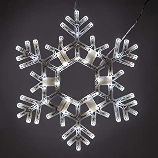Kringle Traditions Lighted Twinkle Snowflake - 20