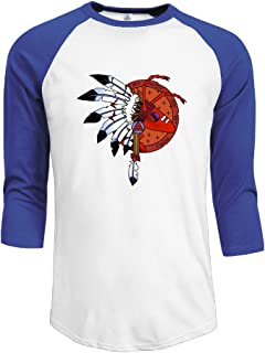 Mens Adam and The Ants 100% Cotton 3/4 Sleeve Athletic Raglan Sleeves T-Shirt