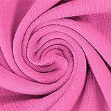 Schickliesel Jersey Stoff Meterware Uni (pink)
