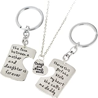 daddy's girl keyring
