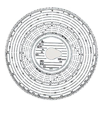 KÖNIG EBHARDT Diagrammscheibe 125 km h EC 4042011816009