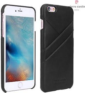 Capa para iPhone 6 Plus iPhone 6s Plus Original, Pierre Cardin, PC55-01, Preto