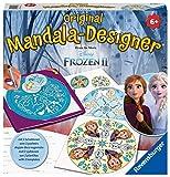 Ravensburger Mandala Designer Frozen 2 29026, Zeichnen lernen mit Anna, Elsa und ihren Freunden für Kinder ab 6 Jahren, Kreatives Zeichen-Set mit Mandala-Schablonen für farbenfrohe Mandalas
