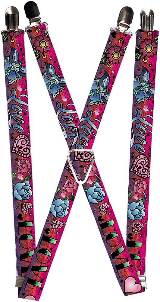Buckle-Down Suspender - Love Love Tattoo