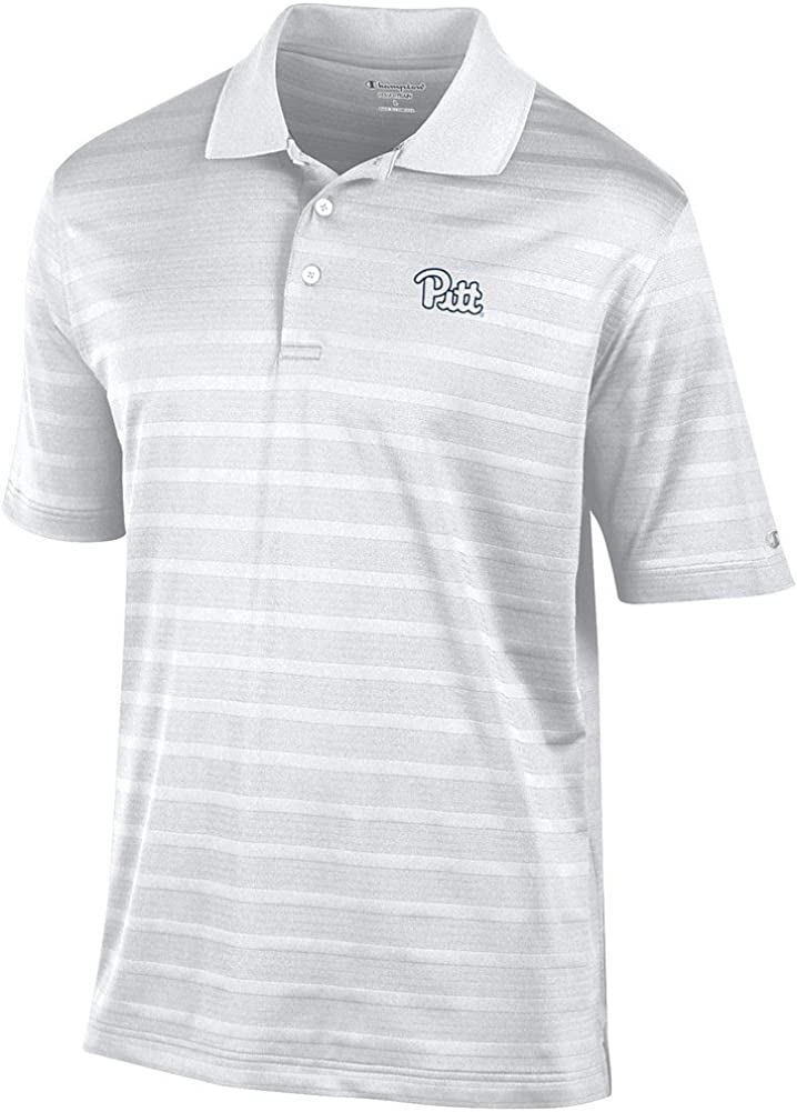 Elite Fan Shop NCAA Mens Performance Polo White