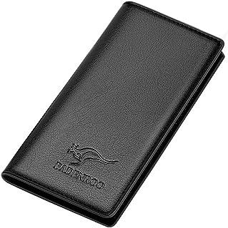 BeniLong men's wallet pu wallet long multi-card wallet-316 black
