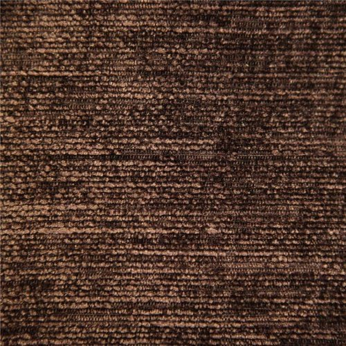 CHOCOLATE BROWN DESIGNER LUXURY SOFT PLAIN SOLID HEAVY WEIGHT UPHOLSTERY CURTAIN CUSHION CHENILLE VELVET FABRIC FIRE RETARDANT SHIMMERING LOOK SOFA FURNITURE MATERIAL SOLD BY THE METRE