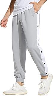 North Carolina Tar Heels Tear Away Snap Buttons Pants Basketball Pants Jogger Size XL